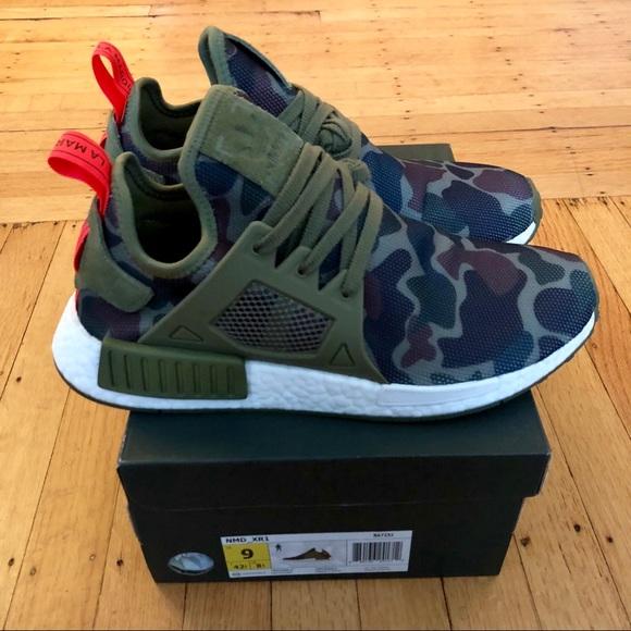 buy online b4569 027fb Adidas NMD XR1 -Olive Duck Camo - Men 9/Women 10.5